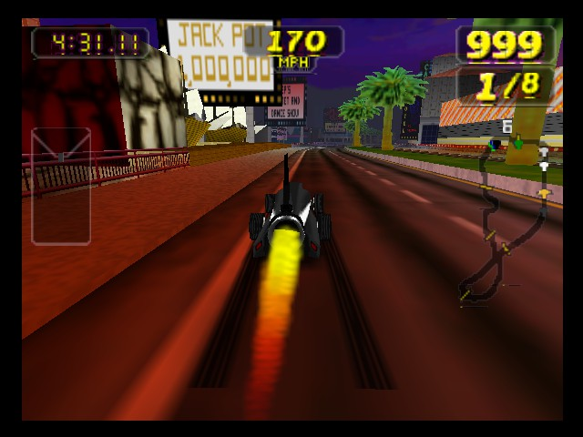 Rush 2 - Extreme Racing USA - going fast - User Screenshot